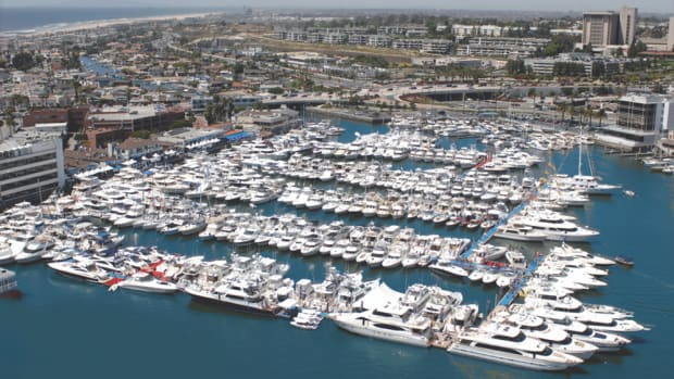Organizers said the Newport In-Water Boat Show will feature more than 200 new and used boats of all types.