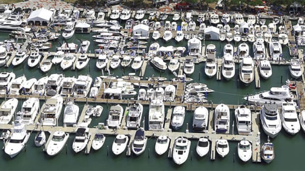 The Suncoast Boat Show will be held at Marina Jack in Sarasota.