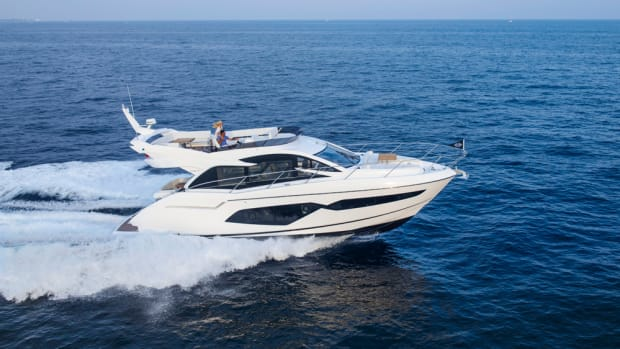 Sales of new yachts such as the 56-foot Manhattan 52 helped Sunseeker return to profitability in 2016.