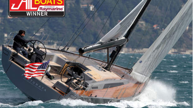 The Solaris 50 won Sail Magazine's award for best large monohull 50 feet and above.
