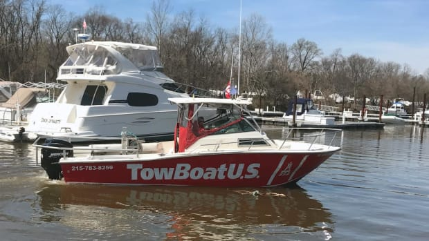 Capt. Grace Marsh is one of three new owners of TowBoatUS Philadelphia and TowBoatUS Neshaminy.