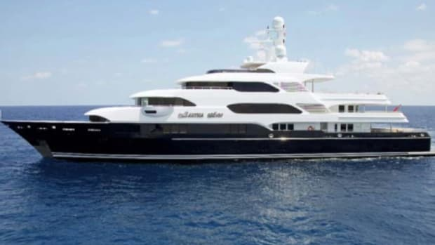 Martha Ann, a 230-foot Lürssen, will be the largest superyacht on display at the Palm Beach International Boat Show.
