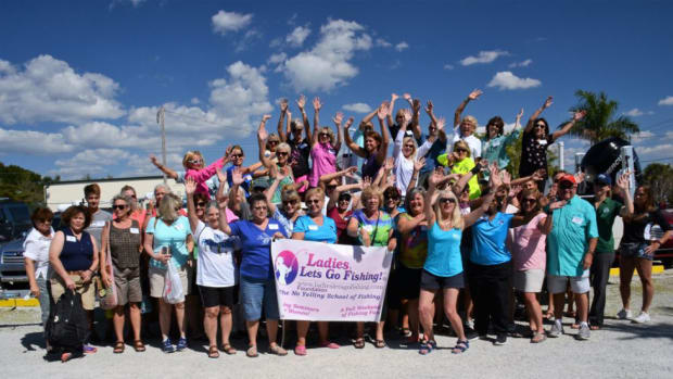 "The most recent ""Ladies, Let's Go Fishing!"" event was held last weekend on Florida's Gulf Coast."