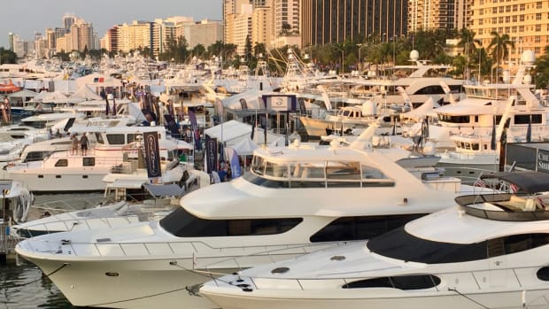 Yachts Miami Beach is one of five major Florida boat shows that Informa will manage after its purchase of Show Management.