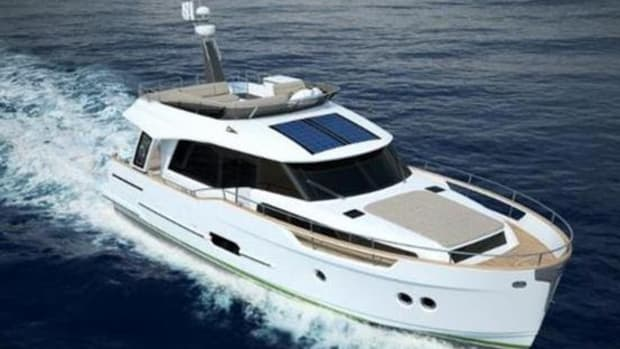 Slovenia's Greenline Hybrid Yachts have a super-displacement hull, which enables the yachts to use less fuel, generate lower carbon dioxide emissions and produce less wake. Several Greenline boats will be on display at Yachts Miami Beach.