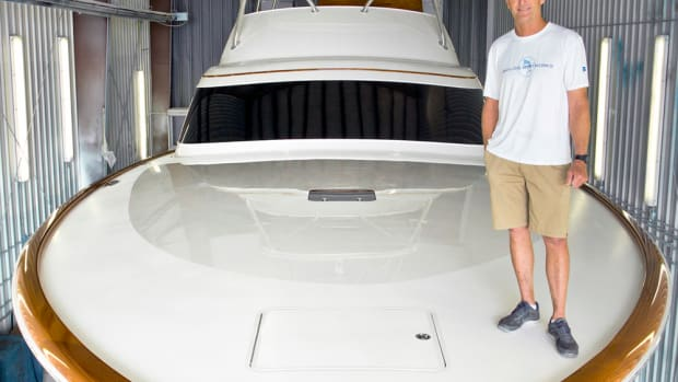 Sportfishing boatbuilder Bayliss Boatworks chose Twin Disc for transmissions and controls.