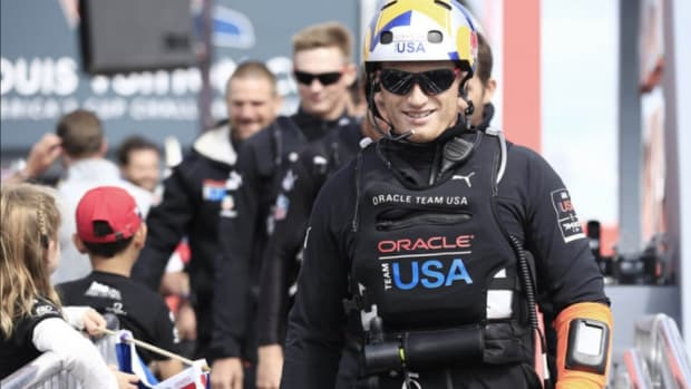 "Jimmy Spithill said his post-surgery infection taught him a ""typical, hard lesson"" about balance in his life."