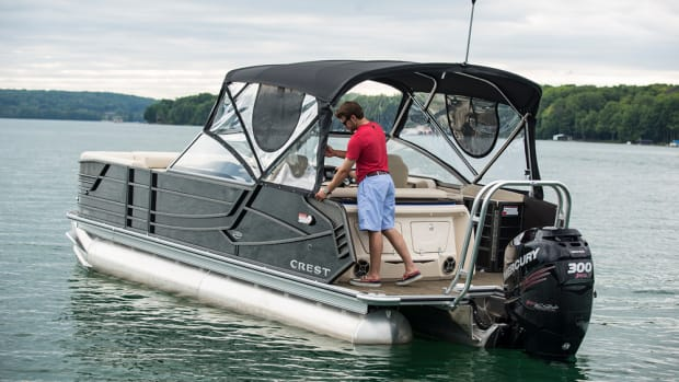 Crest Marine's Continental model was introduced in 2014.