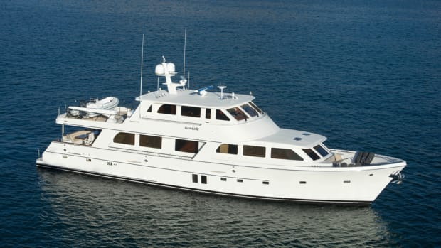 Offshore Yachts' 87 Offshore Motoryacht.