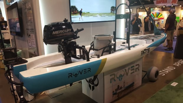 The Bote Boards Rover won the coveted Best in Show award and the Boats and Watercrafts award during the ICAST 2017 New Product Showcase, one of the most important events each year during ICAST.
