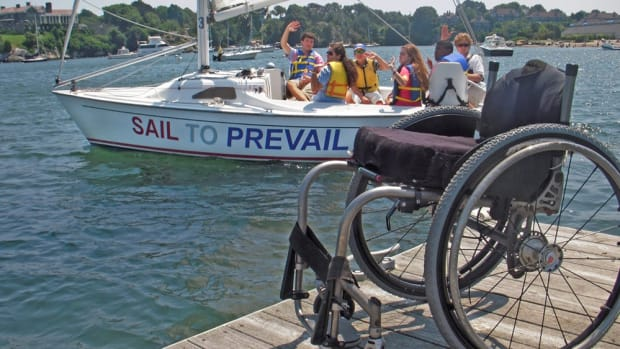 Sail To Prevail creates opportunities for children and adults with disabilities to overcome adversity through therapeutic sailing.