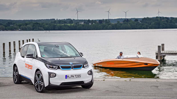 The battery in BMW i3 electric cars is being used to power Torqeedo marine engines.