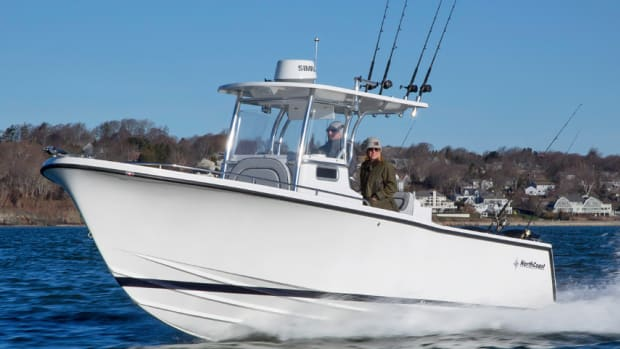 The 24 CC is one of six center consoles that NorthCoast Boats builds.