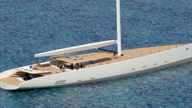 The Wally 145 will have a hybrid propulsion system and produce no emissions.