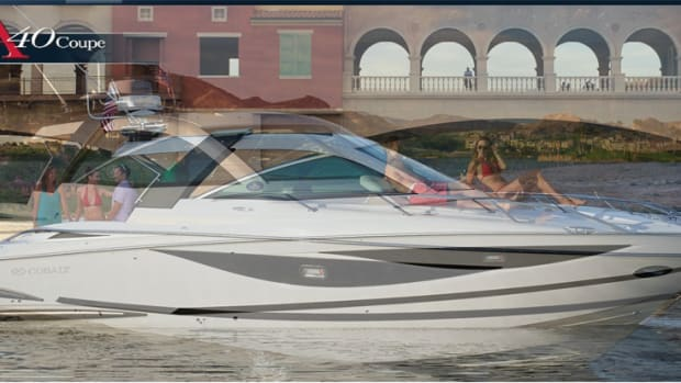 Cobalt Boats is being acquired by publicly-traded Malibu Boats. Shown here is Cobalt's A40 Coupe.