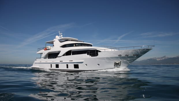 Benetti brought the Delfino 93 Ocean Drive to the Fort Lauderdale International Boat Show.
