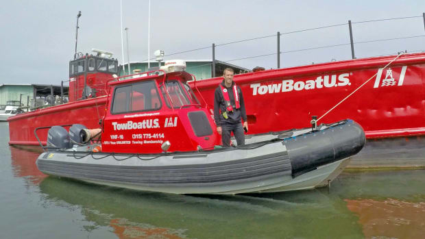 Capt. Jake VanReenen is the new owner of TowBoatUS Oneida Lake.