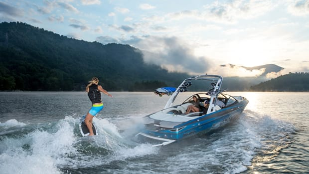 Malibu Boats said it has seven U.S. patents related to wake-surfing systems.
