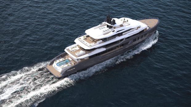 The new explorer yacht is 223 feet.