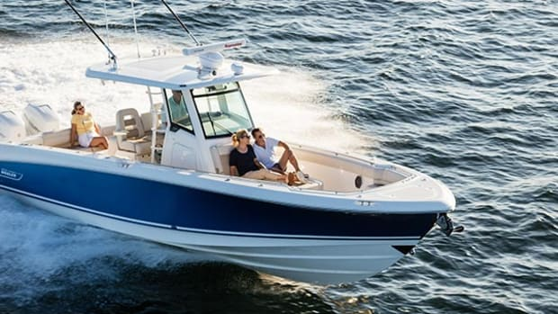The 330 Outrage will be at the Fort Lauderdale International Boat Show in November.