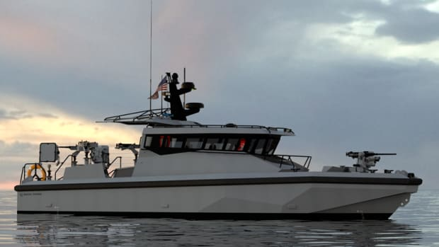 Metal-Shark-40-PBX-New-US-Navy-NECC-Coastal-Riverine-Forces-Patrol-Boat-2017-Aluminum-Military-Patrol-Vessel