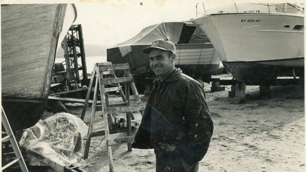Dave at Boatyard