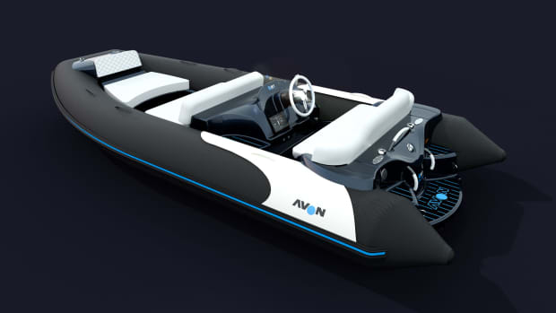 Photo of the Avon eJET Concept