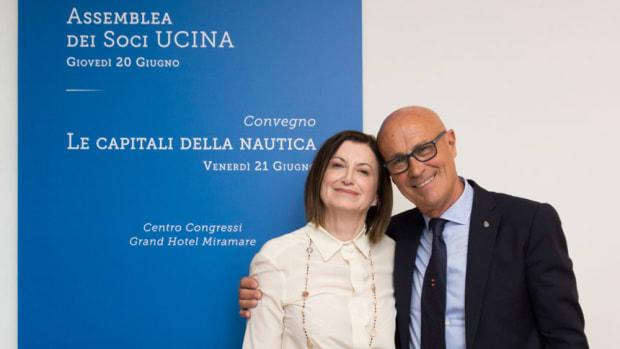 UCINA-SATEC2019_Presidente-Saverio-Cecchi-e-Presidente-emerito-Carla-Demaria_2x860