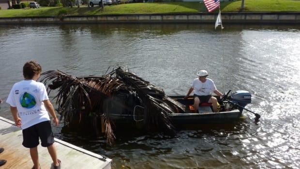 Waterway-cleanup