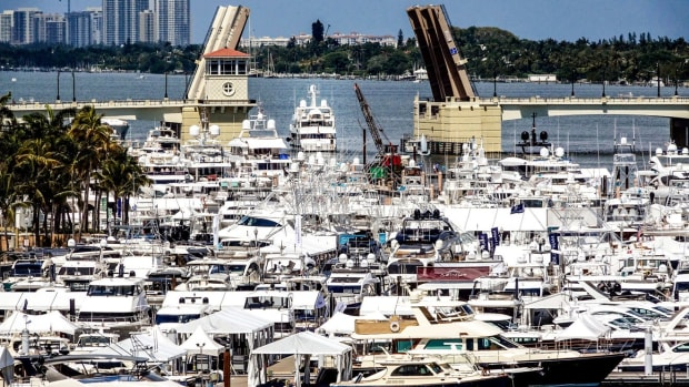 Palm Beach Daily News boat show photo