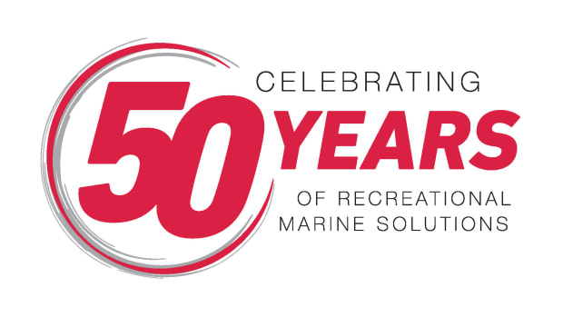 1_YANMAR - 50Years Logo_Celebrating 50 Years of Recreational Marine Solutions