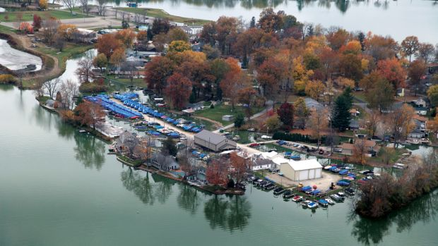 Fisher's Marina on Ohio's Buckeye Lake has grown steadily throughout its 103 years.