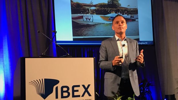 "Kevin Harrington, the original ""shark"" on ABC-TV's ""Shark Tank,"" told the IBEX audience today that digital marketing is key to reaching millennial consumers."