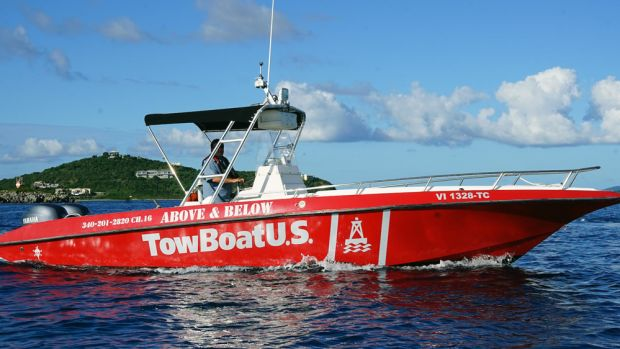TowBoatUS St. Thomas is the first TowBoatUS towing location in the Lesser Antilles.
