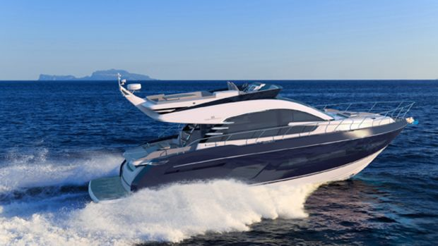 Fairline Yachts' new Squadron 53 is based on an existing company hull, but it has a new design from the deck upward.