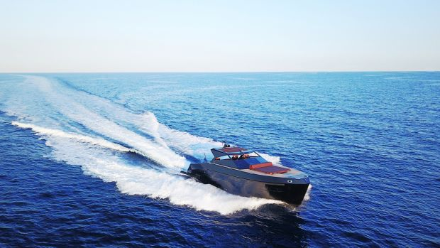 This 38-foot soft top will be one of two new models Mazu Yachts will debut at the Monaco Yacht Show.