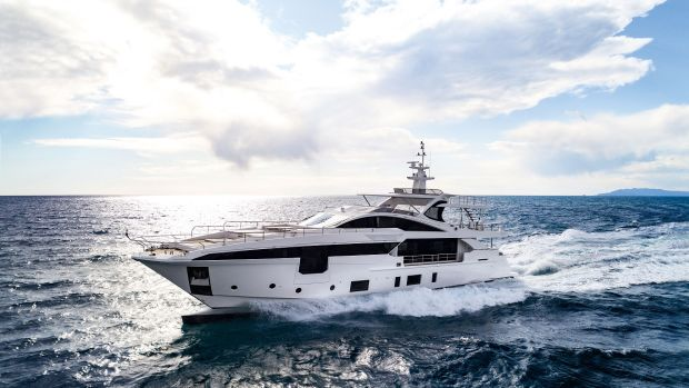 At 115.4 feet, the Grande 35 Metri is the flagship of Azimut's Grande Collection line.