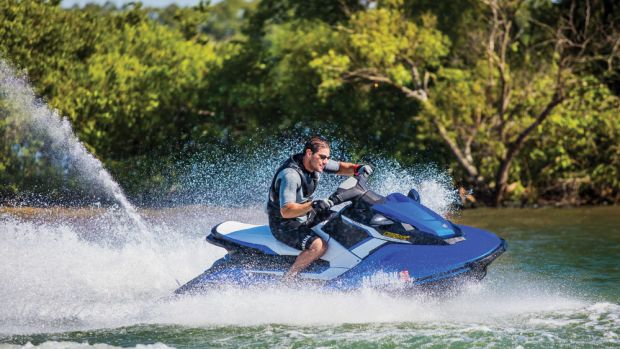 The EX Deluxe is one of three models Yamaha is using to target younger riders on a budget.