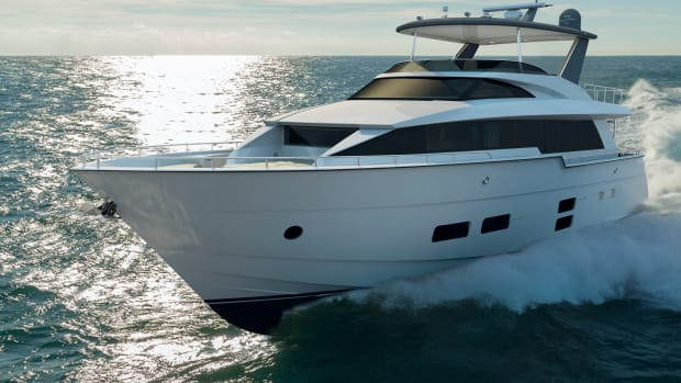 The Hatteras 70 Motor Yacht will debut at the Fort Lauderdale International Boat Show in November.