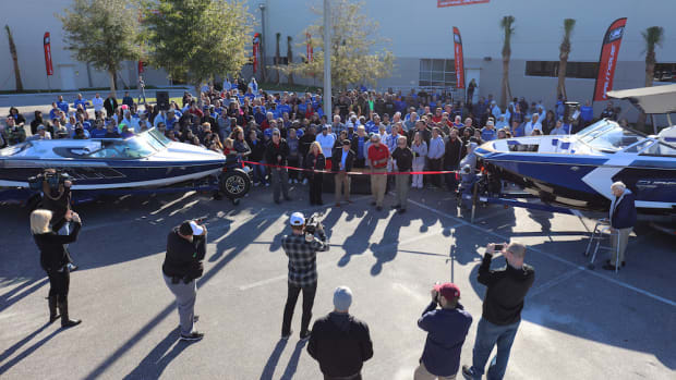 Nautique celebrated the expansion of its Florida manufacturing facility with a ribbon-cutting ceremony on Wednesday.