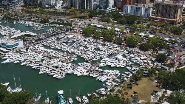 The Suncoast Boat Show had more boats and exhibitors than any in the past 15 years and saw attendance rise by 9 percent.