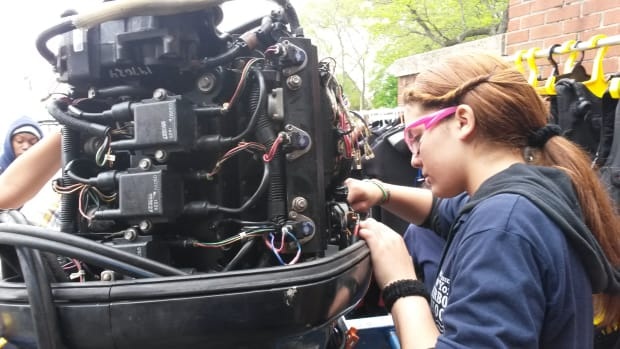 A grant will help the ABYC address the growing workforce shortage by creating a marine technology curriculum.