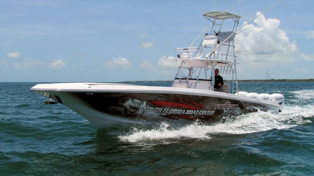 Fountain is one of four once-thriving lines Iconic Marine Group is hoping to reinvigorate. It won't be easy, says chief operating officer Joe Curran, but the new owners are confident they will prevail, citing the strong retail following of each of the brands.