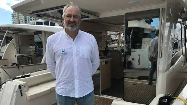 Vladimir Zinchenko is the CEO of SVP Yachts, of Slovenia, which has restarted the Greenline brand of diesel/electric hybrid boats.