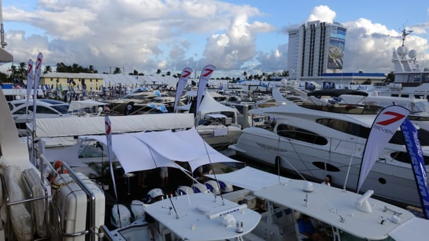 The Fort Lauderdale International Boat Show, which opens Thursday at seven locations, had an $857 million impact on the Florida economy last year, the Marine Industries Association of South Florida said in a report.