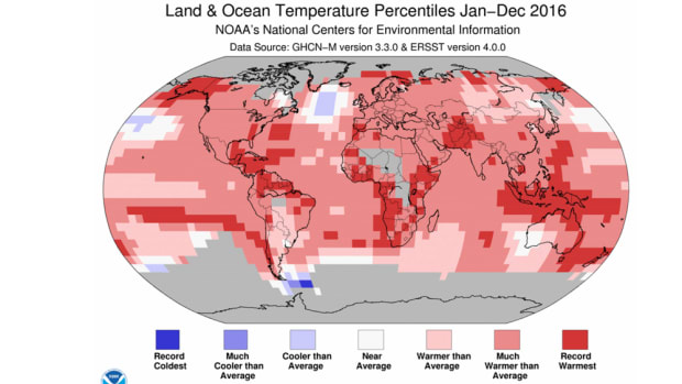 Scientists sounded an alarm about the third year in a row of record heat.