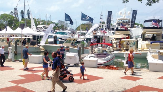 Although Suncoast is a regional show, it has increasingly drawn people from outside the Sarasota area.