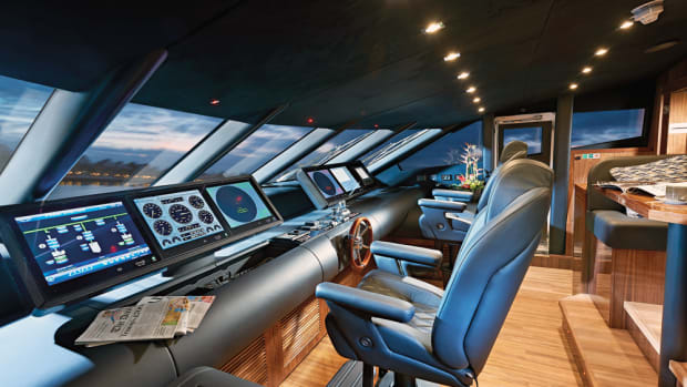 Sunseekers are known for their luxury, from the staterooms to the saloons to the bridges.