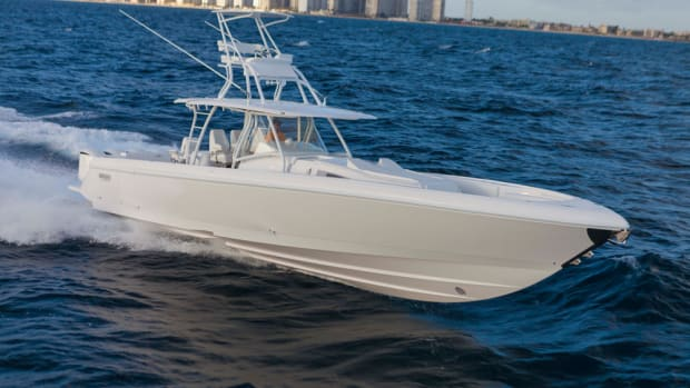 The 475 Panacea and 475 Sport Yacht are currently Intrepid's largest models. But expect a bigger boat under the new ownership.