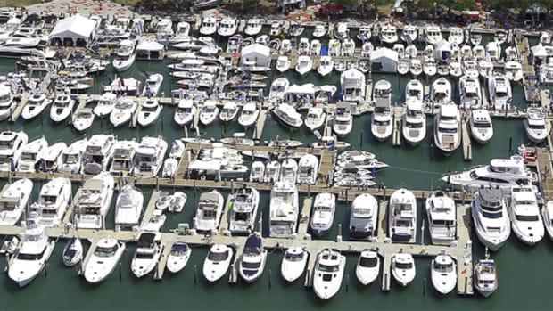 The Suncoast Boat Show will be held at Marina Jack in Sarasota.